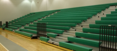 Toadvine bleacher maintenance
