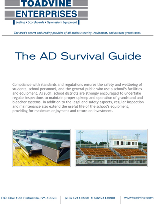 Athletic director survival guide from Toadvine