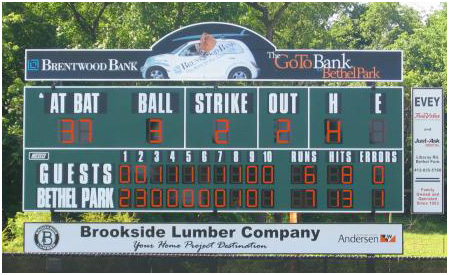 scoreboards from toadvine enterprises