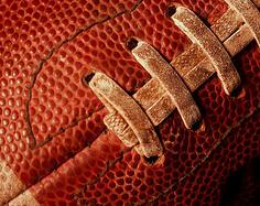 Football season athletic equipment