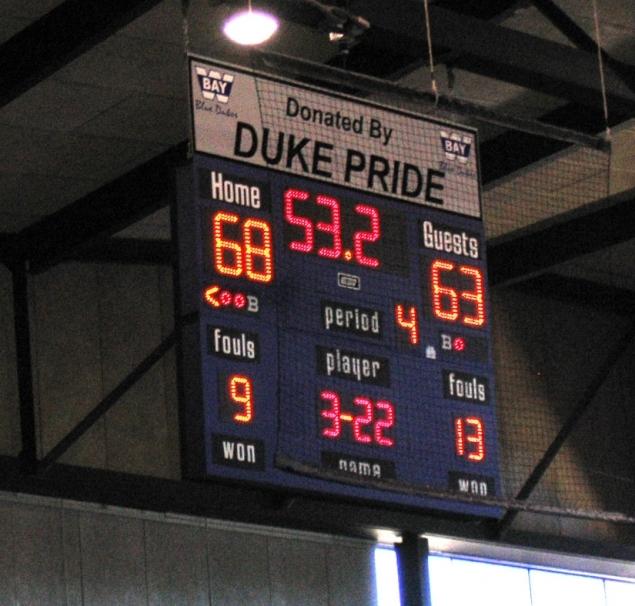 indoor scoreboards from Toadvine Enterprises