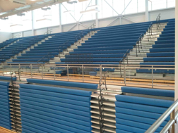 Telescopic bleacher systems
