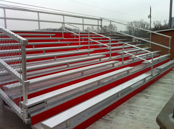 bleacher sales in louisville, ky