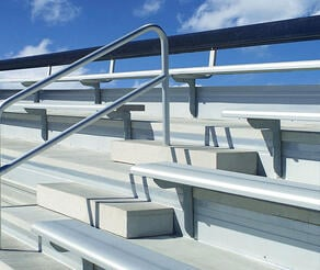 bleacher seating in louisville, ky