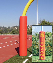 Football equipment goal posts