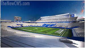 Renovation of UK's Commonwealth Stadium