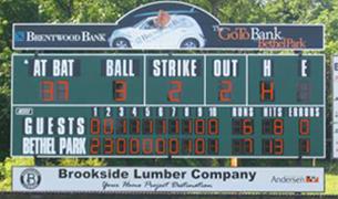 Scoreboard sales and service