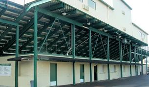 Toadvine Service Maintenance scoreboards bleachers